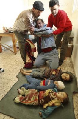 LAS FUERZAS GENOCIDAS JUDIAS LLEVAN EL HOLACAUSTO A GAZA