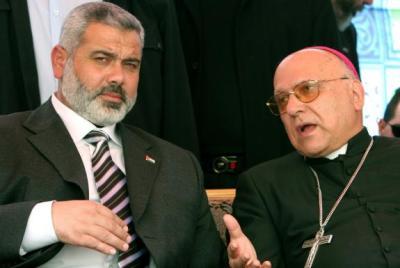 """Michel Sabbah : """"HAMAS NOS PROTEGE"""""""