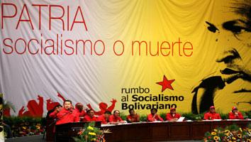 Chávez: No descansaré mientras viva para hacer realidad la Patria Socialista